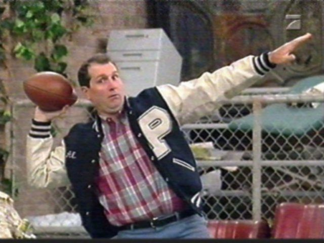 Al Bundy, 4 touchdown en un seul match !